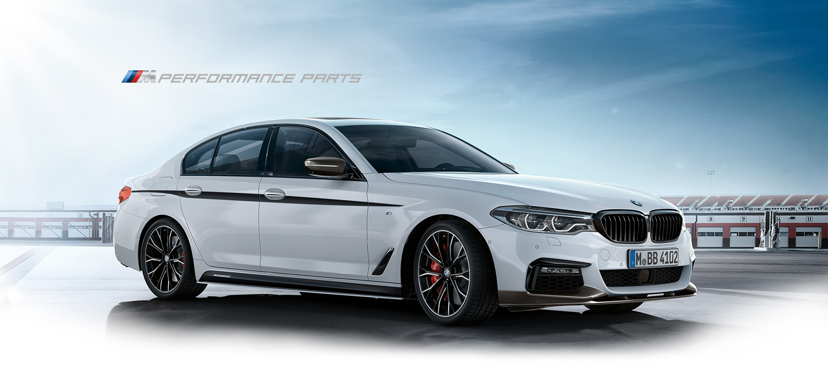 BMW 5 Series: Caring for special components